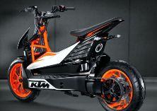 Концепт электрического мотороллера KTM E-Speed
