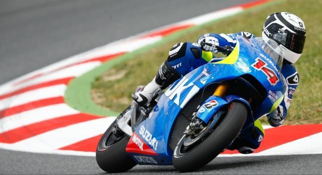 Прототип Suzuki хорошо показал себя на тестах в Барселоне.