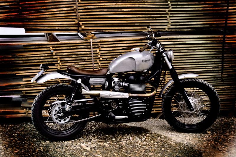 Специалисты FMV Motorcycles, используя  Triumph Bonneville, создали El Visionario.