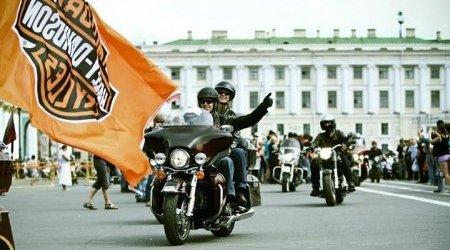 Фестиваль Harley-Davidson в Санкт-Петербурге