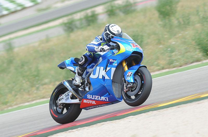 Рэни де Пюнье призывает команду организовать участие Suzuki в чемпионате  MotoGP  по уайлд-кард