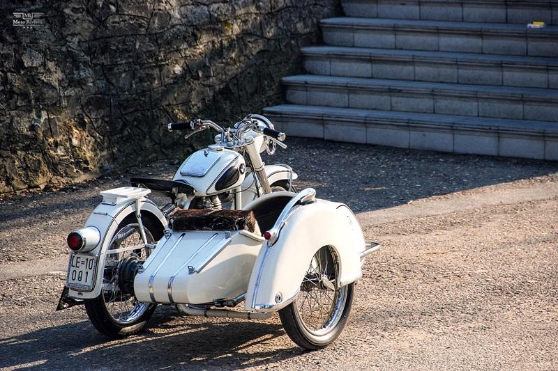 Мотоцикл с коляской BMW r25/2 Steib обрел новую жизнь