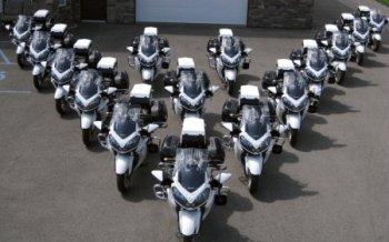Компания Kawasaki отозвала полицейские мотоциклы