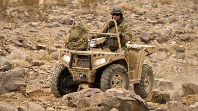 Polaris обеспечит немецкое правительство военной техникой
