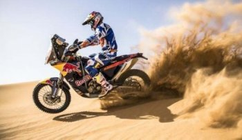 Первые фотографии KTM 450 Rally