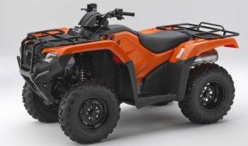 Компания Honda улучшила мотоцикл ATV