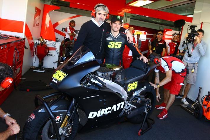 Луиджи Даль'Инья активно взялся за работу в Ducati Corse