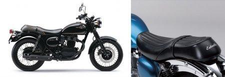 Разработана Kawasaki Estrlella в ретро-стиле