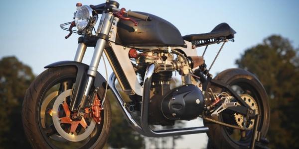 Кастом-байк Bucephalus создали на основе двигателя Triumph