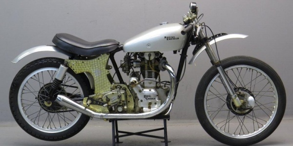 Легендарный гоночный байк Royal Enfield 1949
