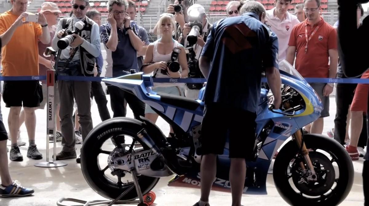 Свет увидела предпоследняя часть фильма о возвращении Suzuki в MotoGP