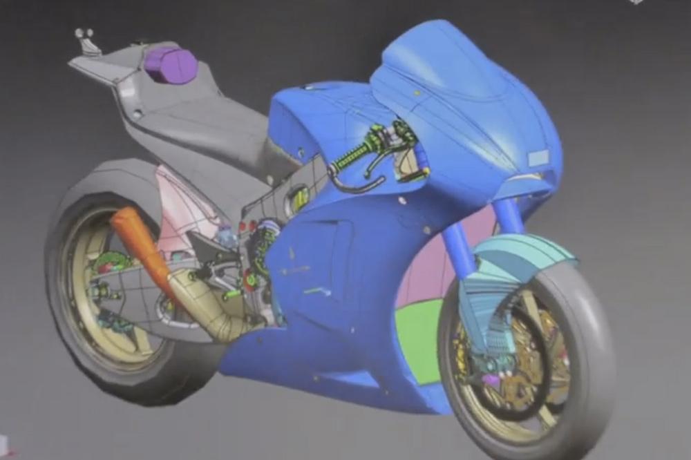 Увидела свет заключительная серия фильма о развитии прототипа  Suzuki для MotoGP