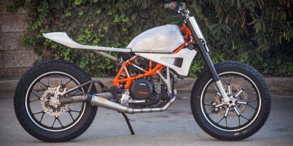 KTM 690 – новый кастом-мотоцикл от Roland Sands Design