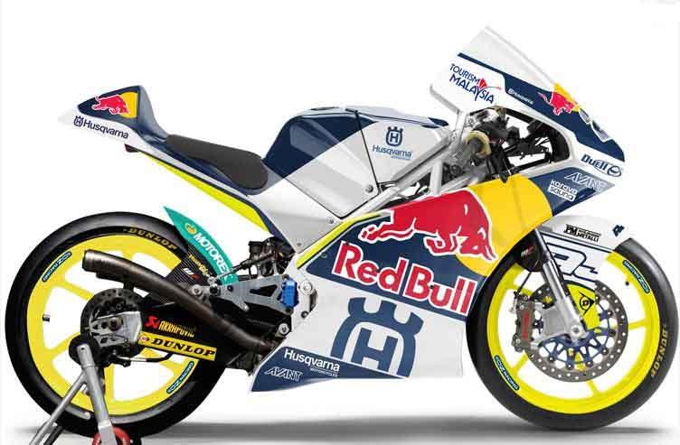 В сезоне 2014 года в классе Moto3 появятся мотоциклы Husqvarna
