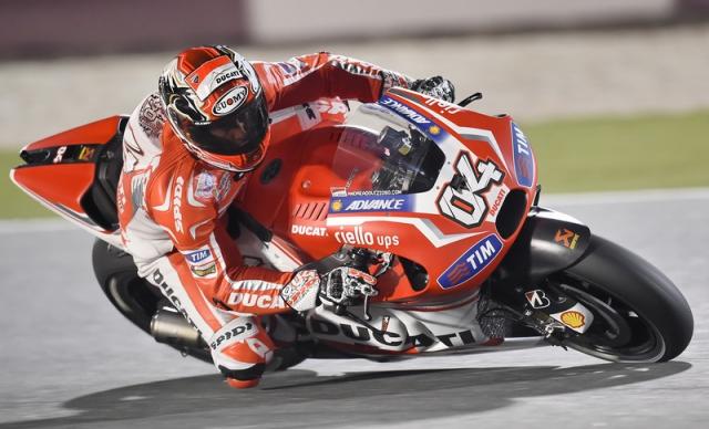 Гонщики команды Ducati Team раздосадованы итогами первого дня этапа Гран При Катара
