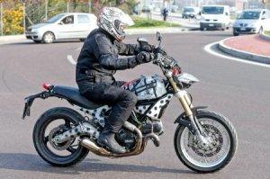 Шпионские фотографии Ducati Scrambler