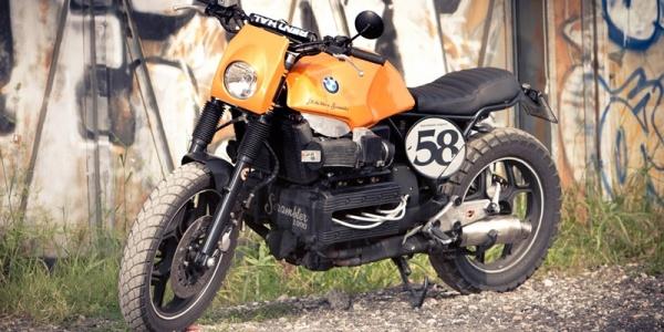 Итальянец Джорджио де Анджелис создал кастом RaceCafe Roma из BMW K100RS