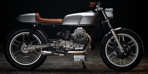 Мастерская Revival Cycles создала кафе рейсер Moto Guzzi V50