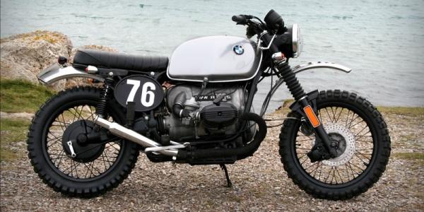 Скрэмблер на базе BMW R100 1976