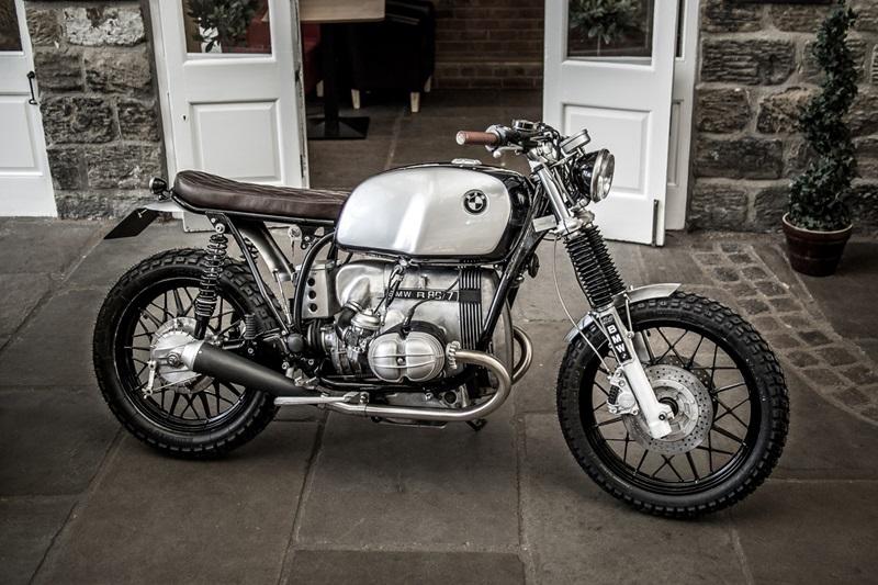Итальянцы из Down & Out Cafe Racers создали скрэмблер на базе BMW R80
