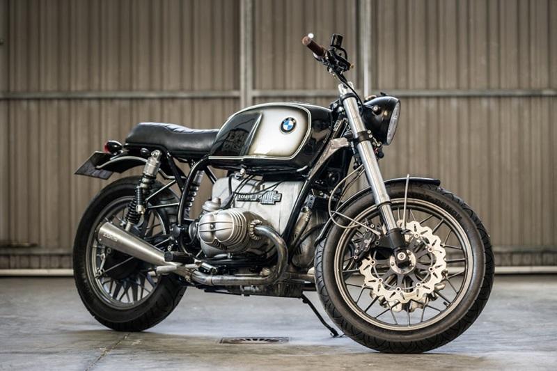 Кастом BMW R100RS от мастерской Cafe Racer Dreams