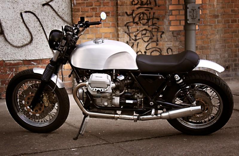Кастом Moto Guzzi California 2003 от немцев из мастерской Urban Motor