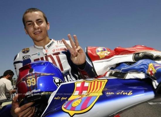 Хорхе Лоренсо остается верен Movistar Yamaha MotoGP