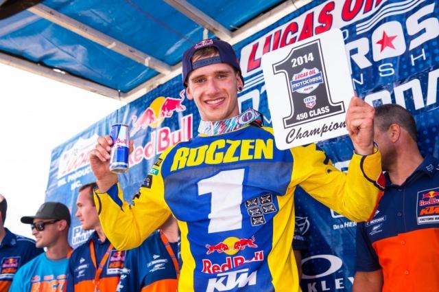 Два гонщика команды Red Bull KTM завоевали первые позиции в чемпионате AMA Pro Motocross 2014