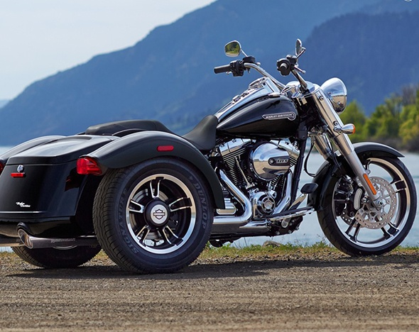 Harley-Davidson опубликовал первое фото своего нового трайка