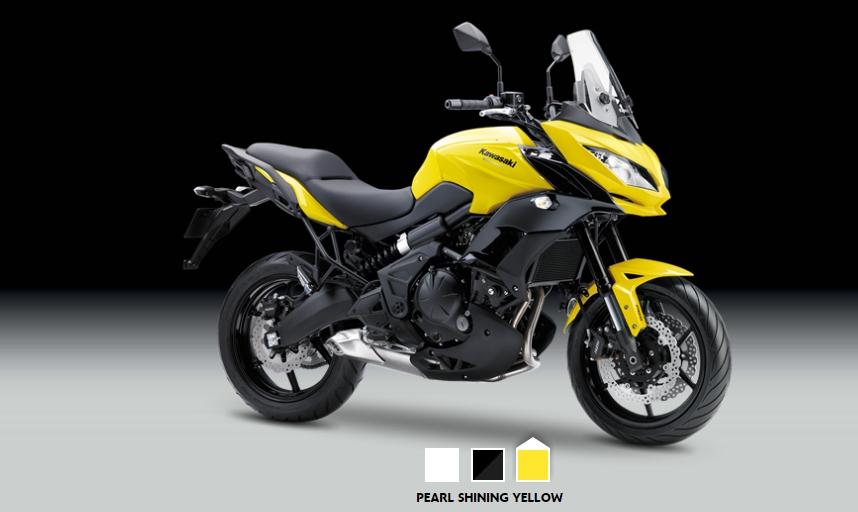 Компания Kawasaki презентовала новый мотоцикл Versys 650