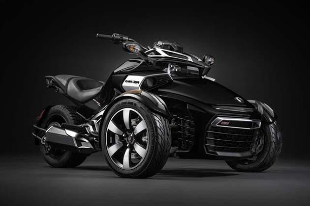 Рассмотрим новый трицикл Can-Am Spyder F3