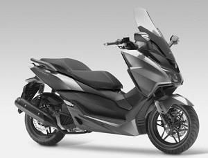 Новый скутер Forza 125 от Honda