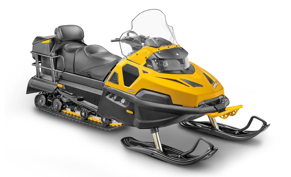 Новый снегоход Stels Viking 600