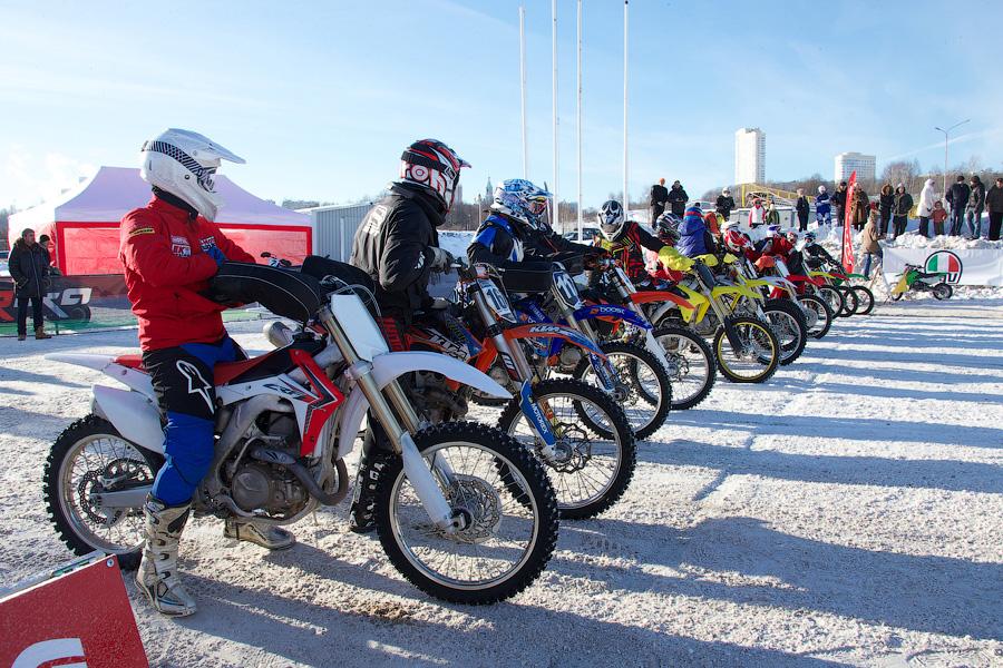 Зимний Кубок по мотокроссу в Москве