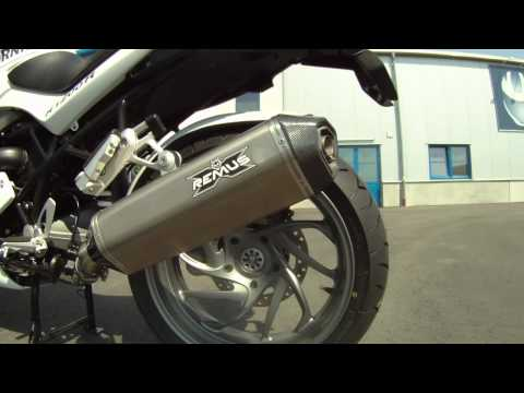 Remus изготовила новые глушители для BMW R1200R