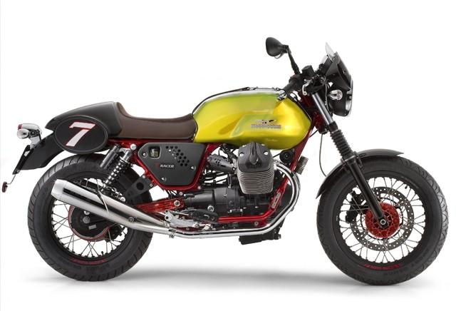 V7 в версии Verde Legnano от Moto Guzzi