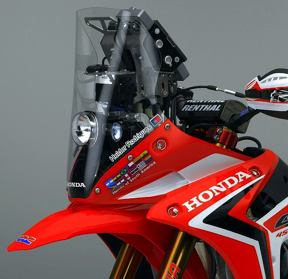 Honda презентовала CRF250 Rally