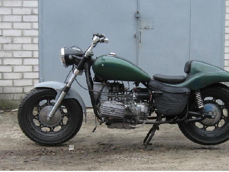 Тюннинг мотоцикла Урал