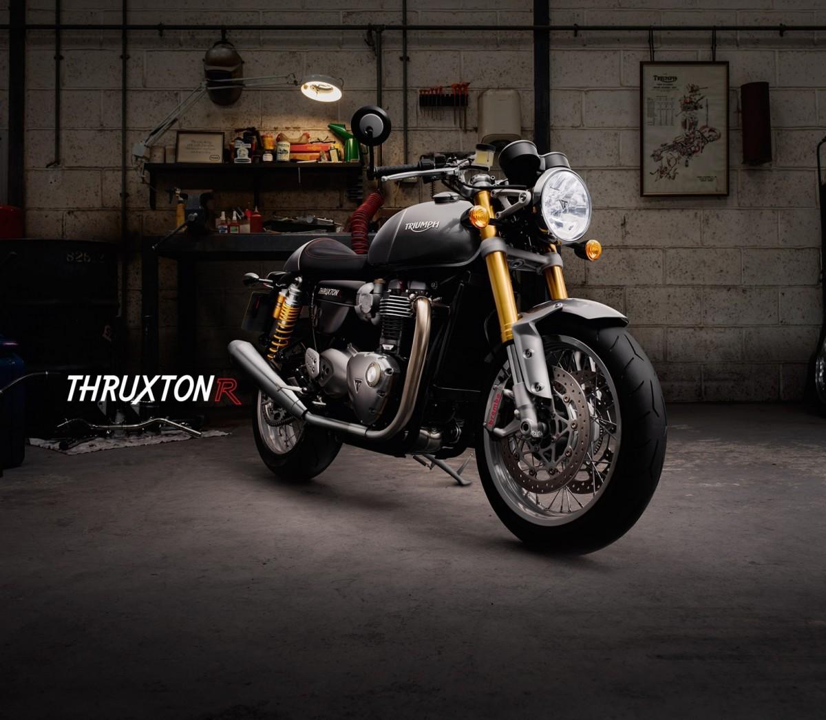 Обновленные Thruxton от Triumph