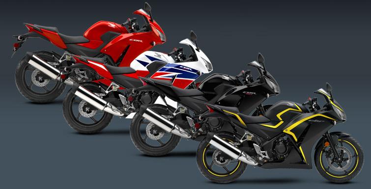 Появление CBR Honda 300cc