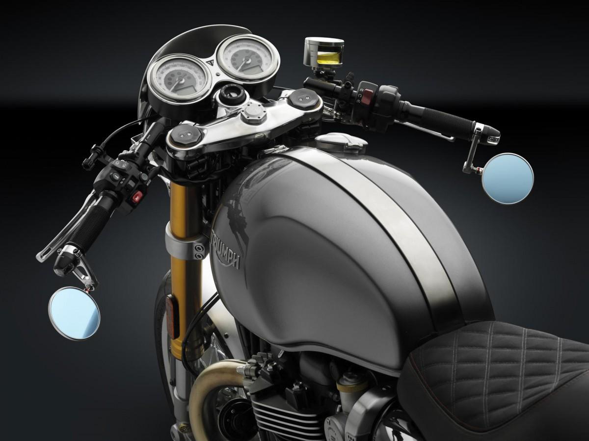 """Rizoma"" украшает мотоциклы ""Triumph"""