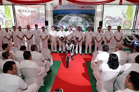 Honda 40 лет производит мотоциклы в Бразилии
