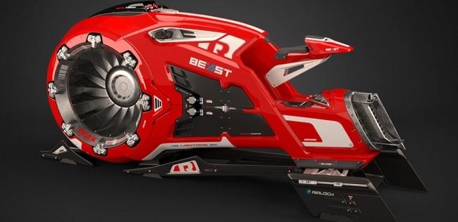 Новый концепт от Beast Hoverbike