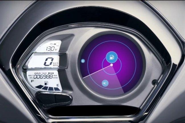 Фирма Kymco продемонстрировала на CES в Лас-Вегасе новую электронную систему для скутеров