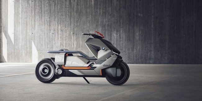 Предприятие BMW разработало городской мотоцикл будущего