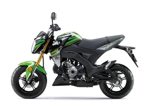 Компания Kawasaki показала мотоцикл Z125 Pro 2018