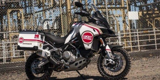 MotoCorsa представляет Ducati Multistrada 1200 Enduro Lucky Strike