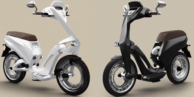 Складывающийся электрический скутер от Роснано