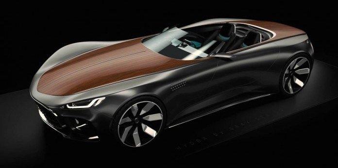 Шведские специалисты построили уникальный суперкар с деревянным кузовом