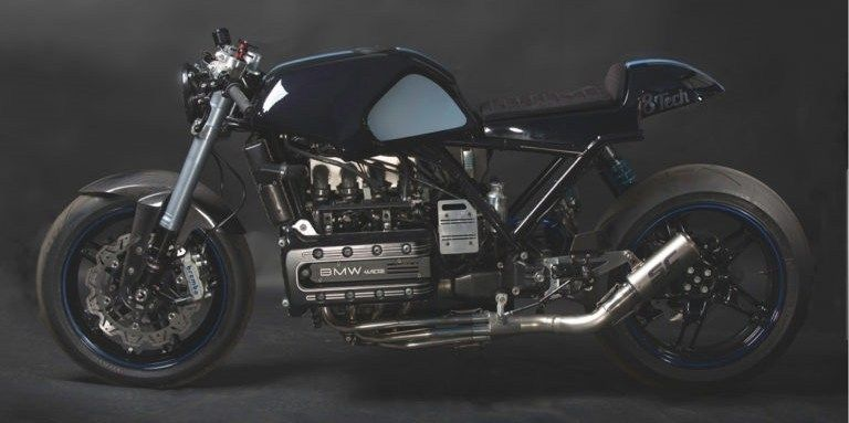 8Tech Racing: кафе-рейсер BMW K1100 Poseidon